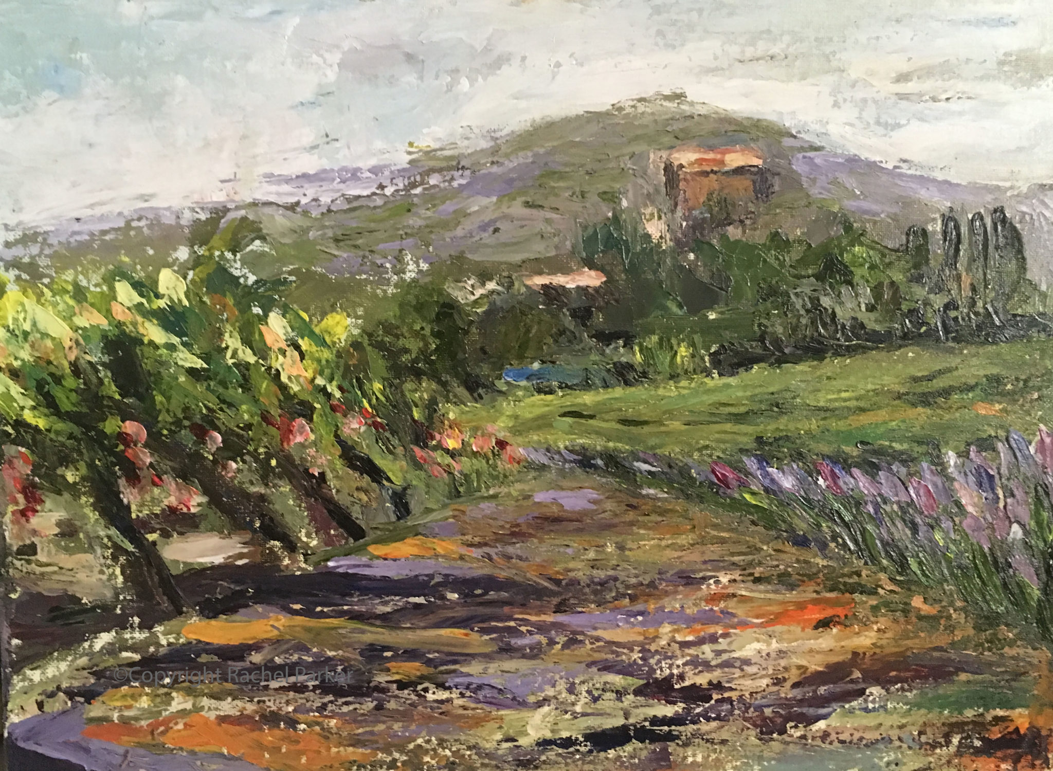 Provencal landscape II
